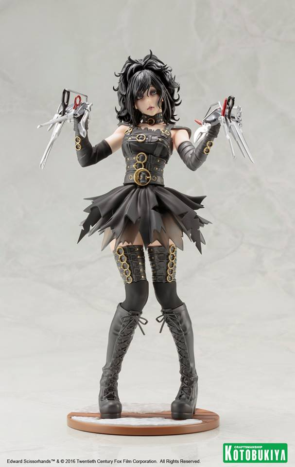 Edward Scissorhands Bishoujo Female Action Figure by Kotobukiya