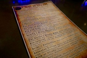 Beetle House Drink Menu